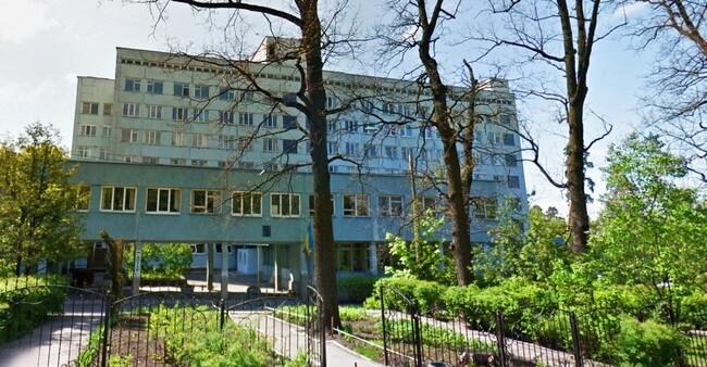 Замена лифта больнице №7 в городе Киев