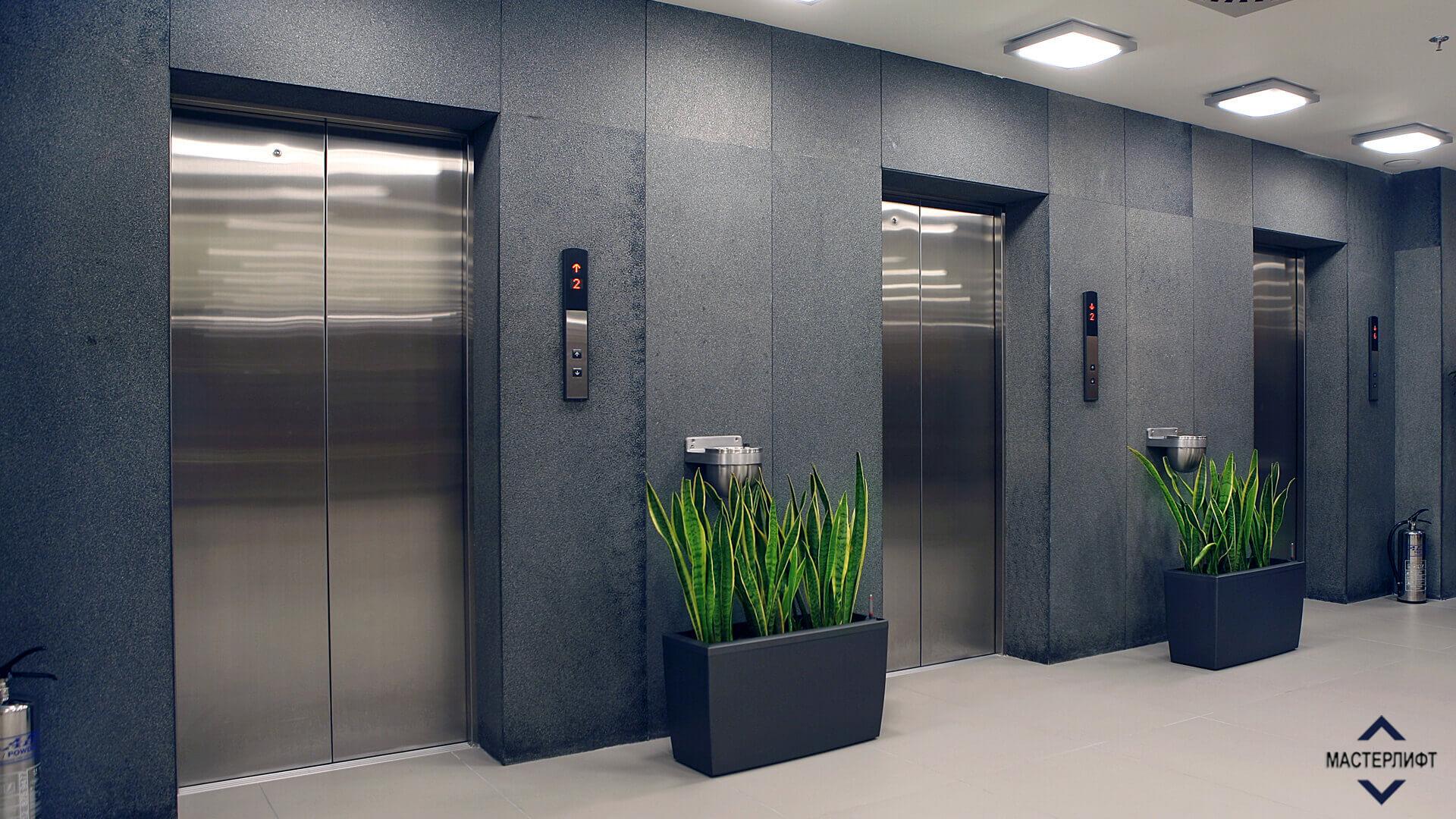 Вес в стандартном лифте
